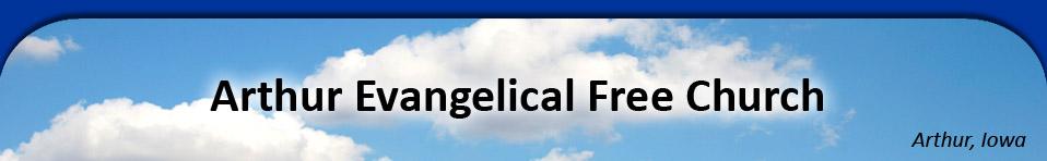 Welcome to Arthur Evangelical Free Church of Arthur, IA