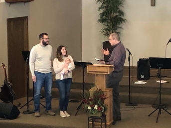 Service of Baby Dedication
